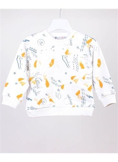 Jack Lions Sweatshirt Beyaz